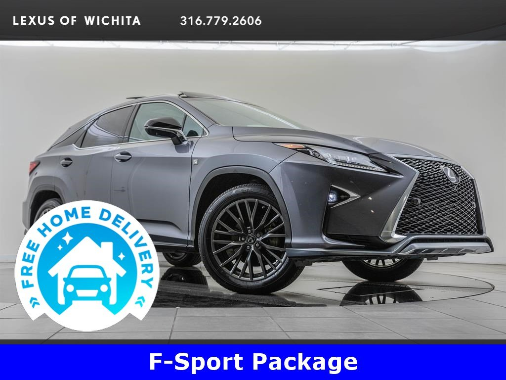 Pre-Owned 2017 Lexus RX 350 F-Sport Package