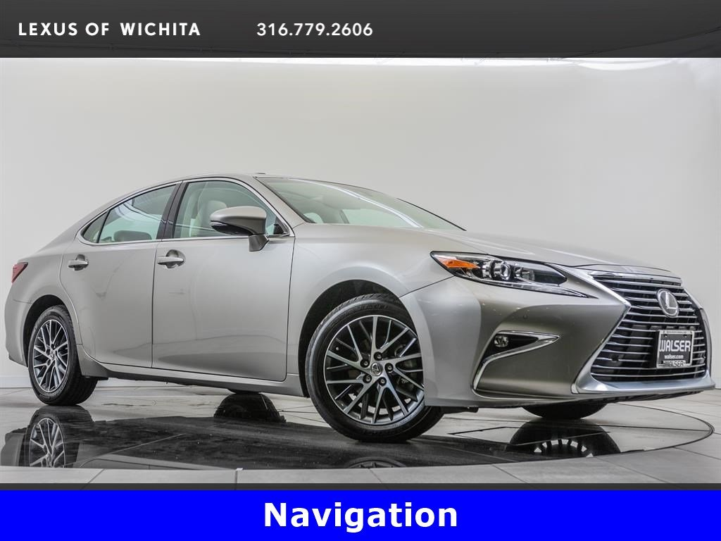 Pre-Owned 2017 Lexus ES Navigation, Premium Package, Factory Wheel Upgrade