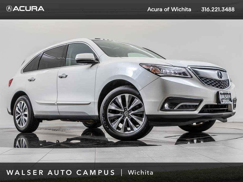 PreOwned Acura MDX Technology Package Navigation Moonroof - Acura mdx navigation