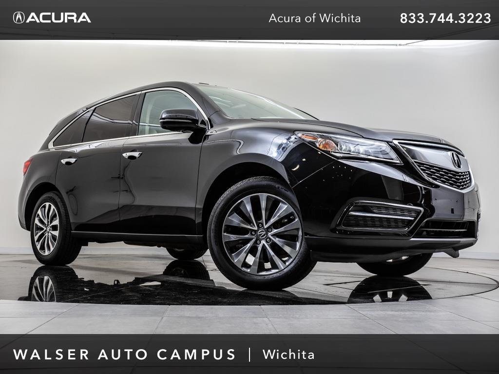 Pre Owned 2016 Acura MDX Technology Package Navigation Moonroof