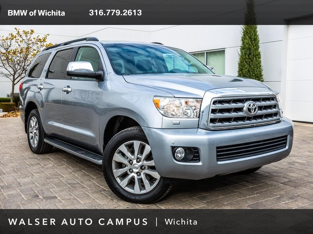 Pre-Owned 2013 Toyota Sequoia Limited. Navigation, Moonroof, Rear View Camera