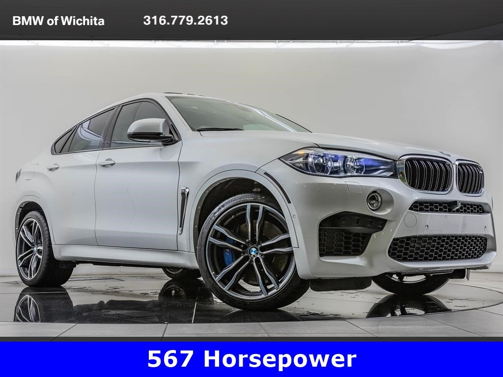 Pre-Owned 2016 BMW X6 M Bang & Olufsen Audio, 567 Horsepower