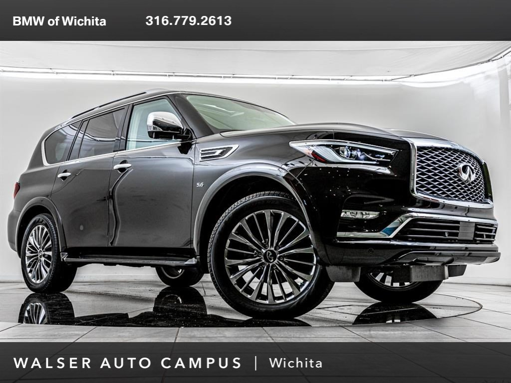 Pre-Owned 2018 INFINITI QX80 Full Option Build!