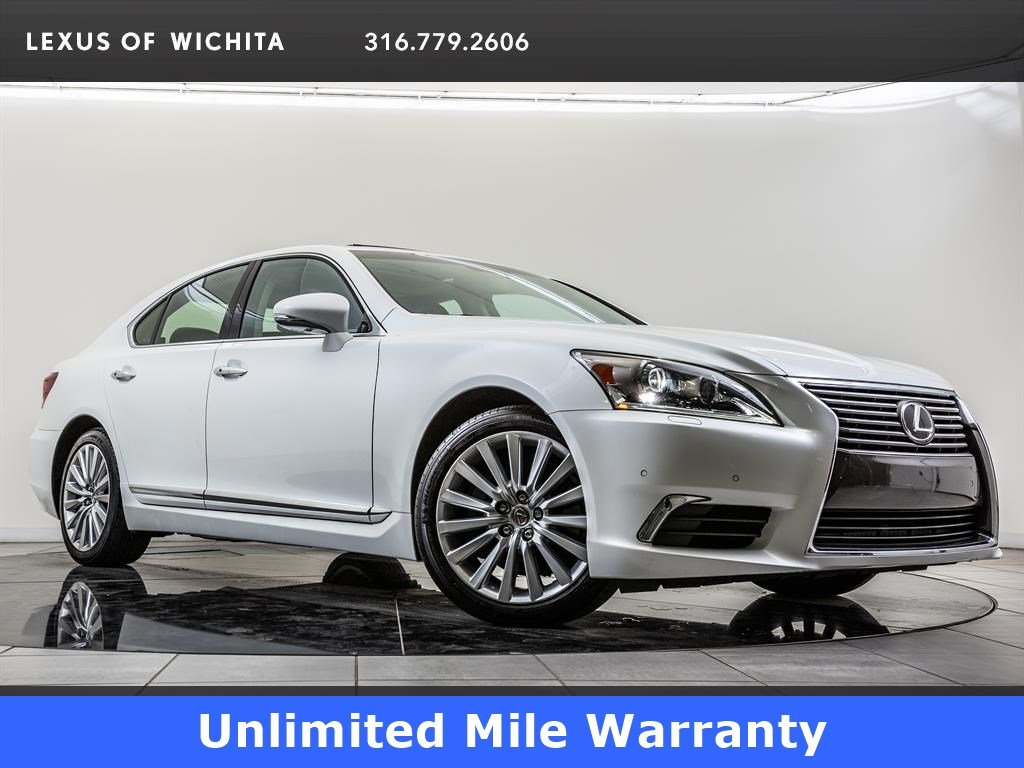 Pre-Owned 2015 Lexus LS 460 Unlimited Mile Warranty, 19-inch Wheels