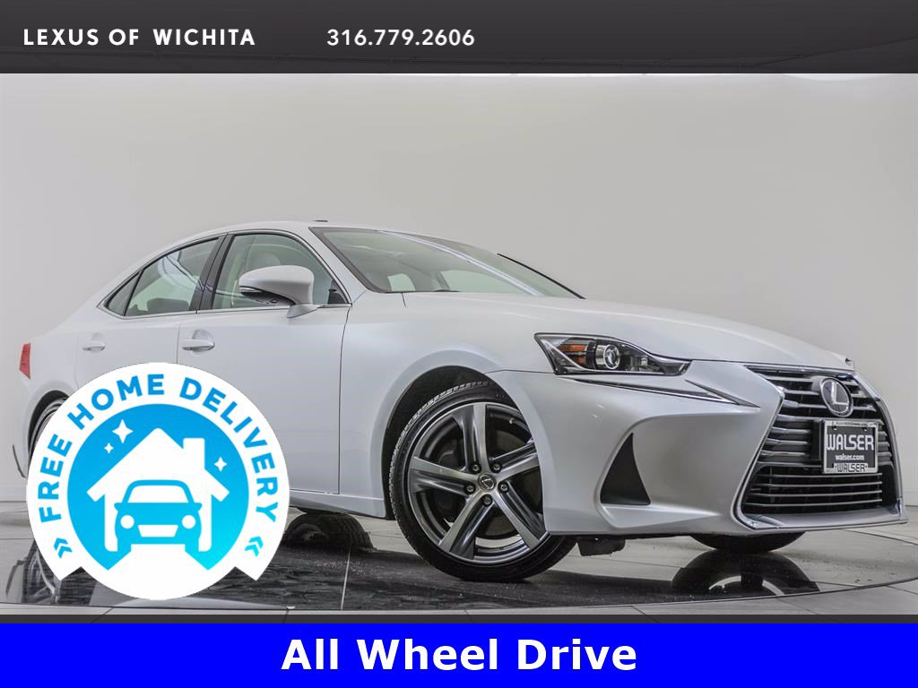 Pre-Owned 2017 Lexus IS 300 Factory Wheel Upgrade, Navigation, Premium Package