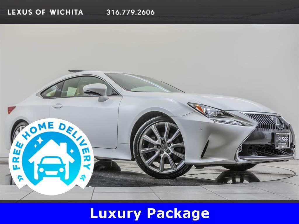Pre-Owned 2016 Lexus RC 350 Luxury Package, Factory Wheel Upgrade