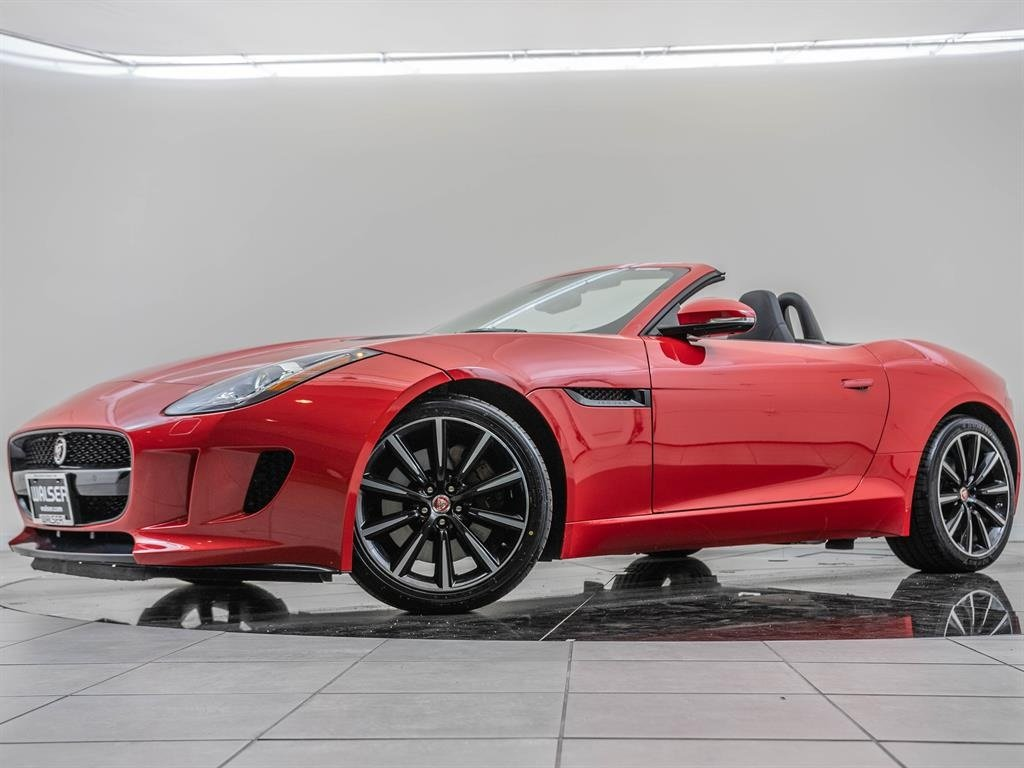 Pre-Owned 2016 Jaguar F-TYPE Sport Active Exhaust, Black Package