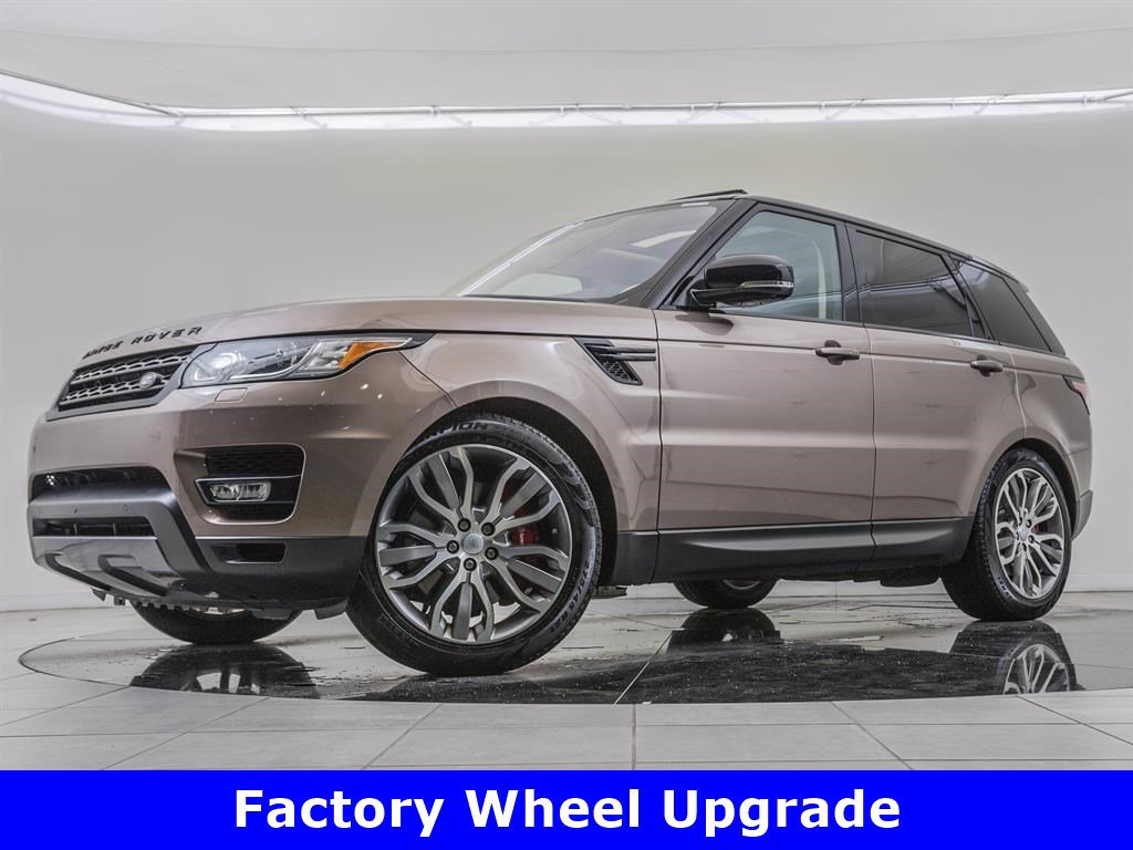 Pre-Owned 2017 Land Rover Range Rover Sport Supercharged