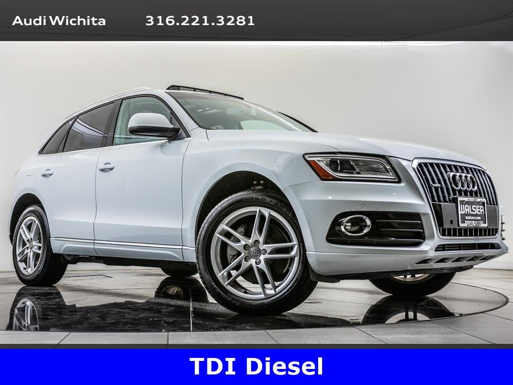Pre-Owned 2014 Audi Q5 TDI Premium Plus quattro, Navigation, RV Camera