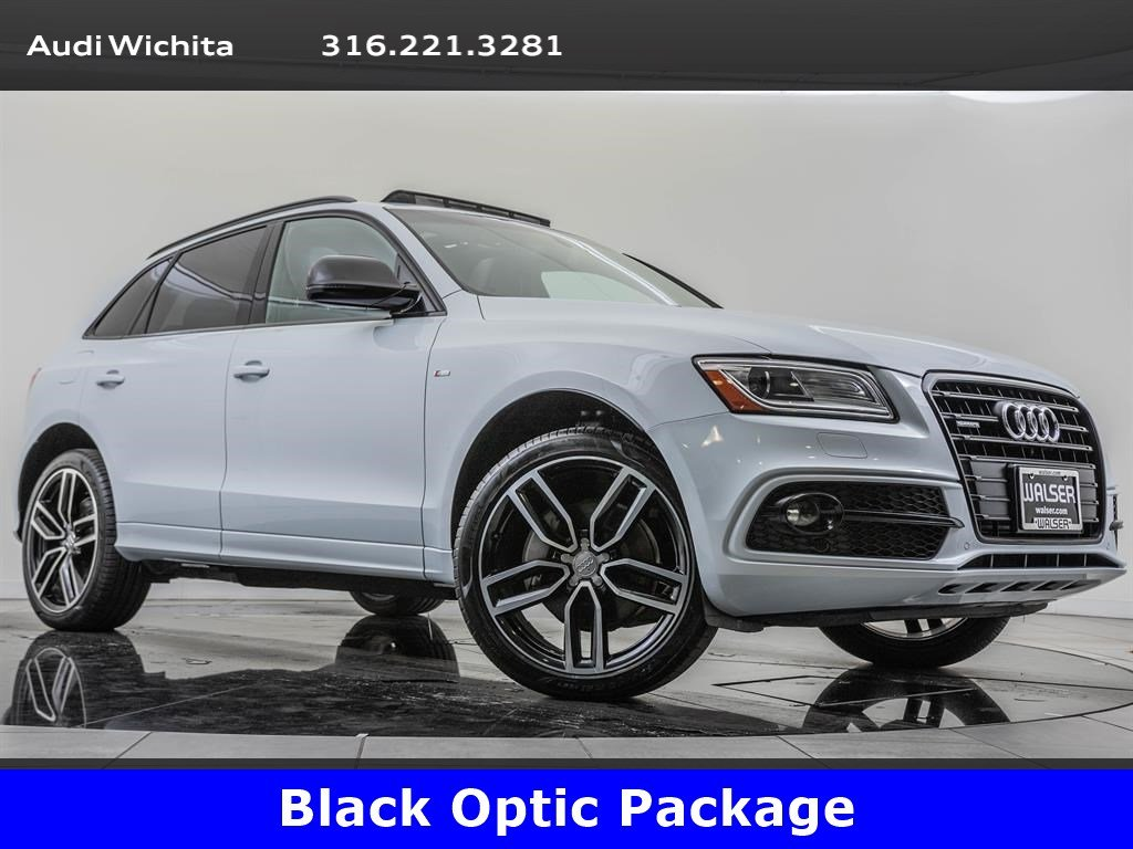 Pre-Owned 2017 Audi Q5 3.0T Premium Plus quattro, S Line Competition Pkg