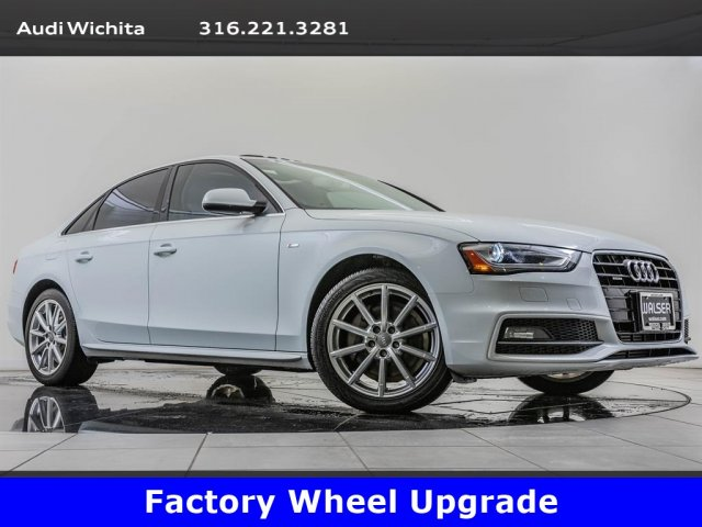 Pre-Owned 2015 Audi A4 2.0T Premium quattro, Upgraded 18-Inch Wheels