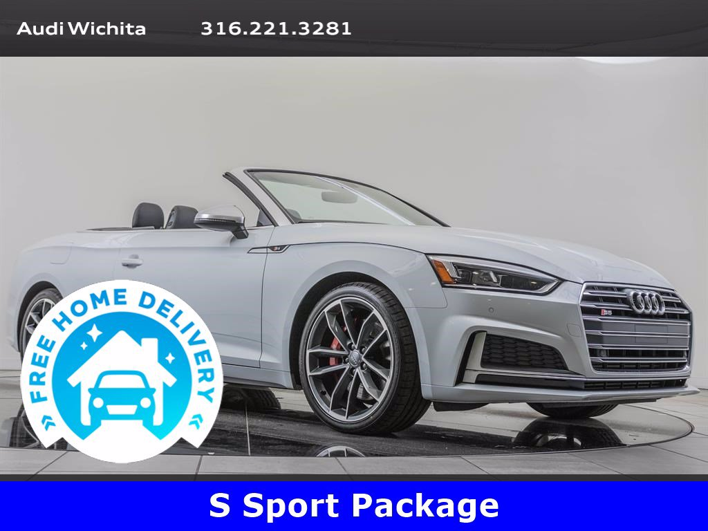 Pre-Owned 2018 Audi S5 Cabriolet Premium Plus, S-Sport Package
