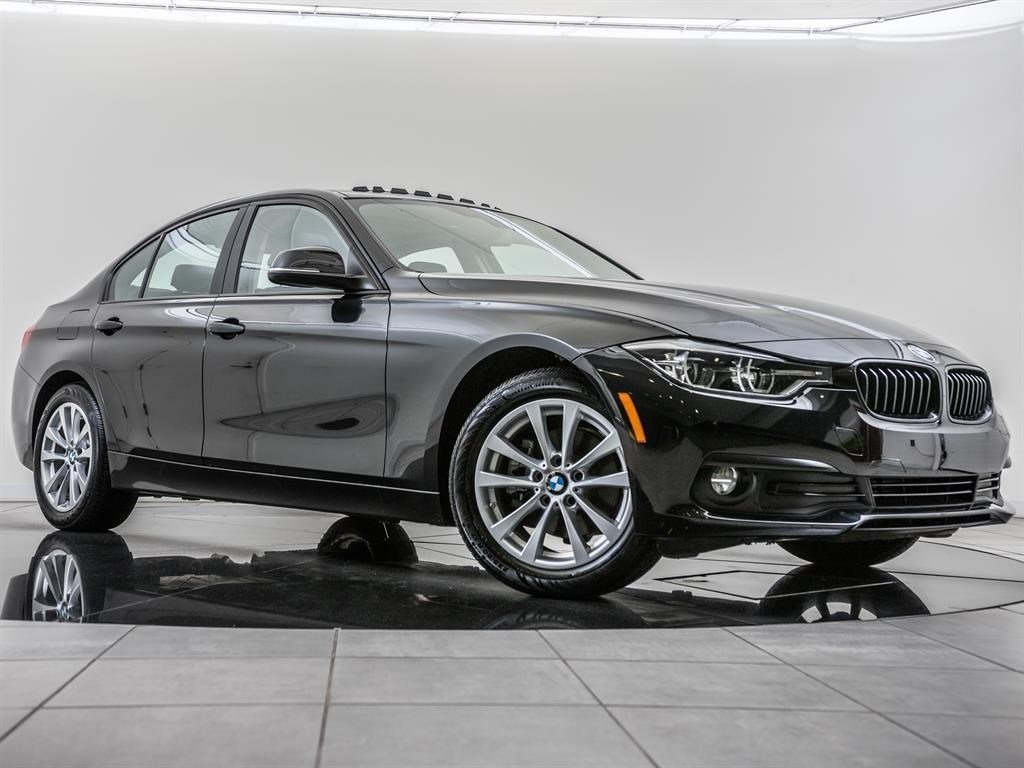 Certified Pre-Owned 2018 BMW 3 Series 320i xDrive, Moonroof, RV Cam, Htd Sts, Blnd Spt