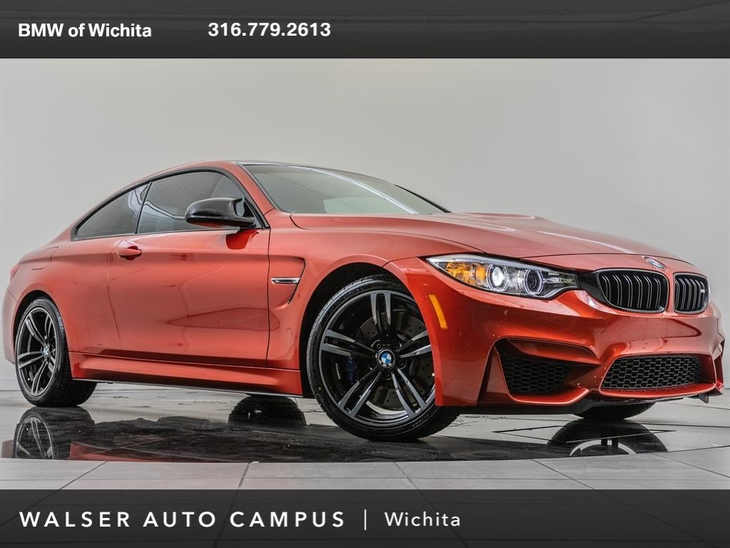 Pre Owned Factory >> Pre Owned 2016 Bmw M4 Manual Factory Wheel Upgrade Rwd 2dr Car
