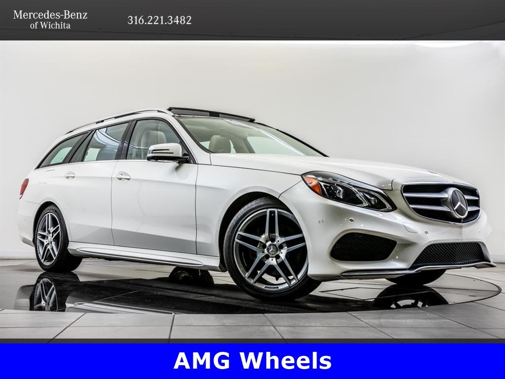 Pre-Owned 2015 Mercedes-Benz E-Class E 350 Luxury 4MATIC, AMG® Wheels