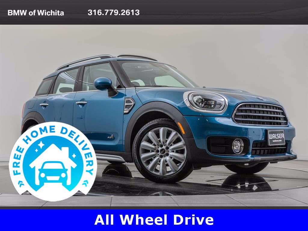 Pre-Owned 2019 MINI Cooper ALL4 Countryman Signature Trim Package