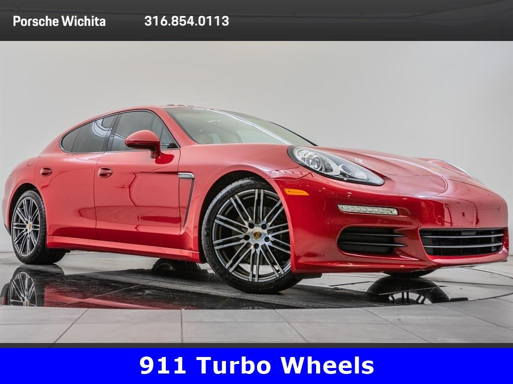 Pre-Owned 2016 Porsche Panamera Premium Pkg Plus, Upgraded 20-Inch Wheels