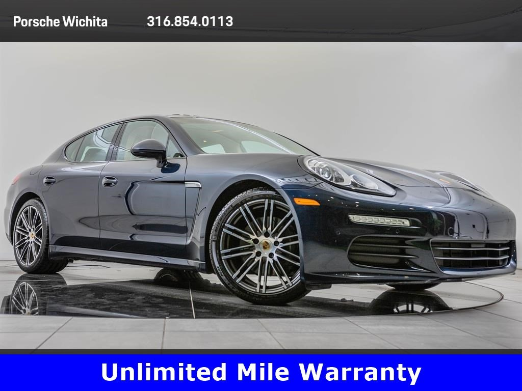 Pre,Owned 2016 Porsche Panamera Edition, Upgraded 911 Wheels, Premium  Package Plus With Navigation