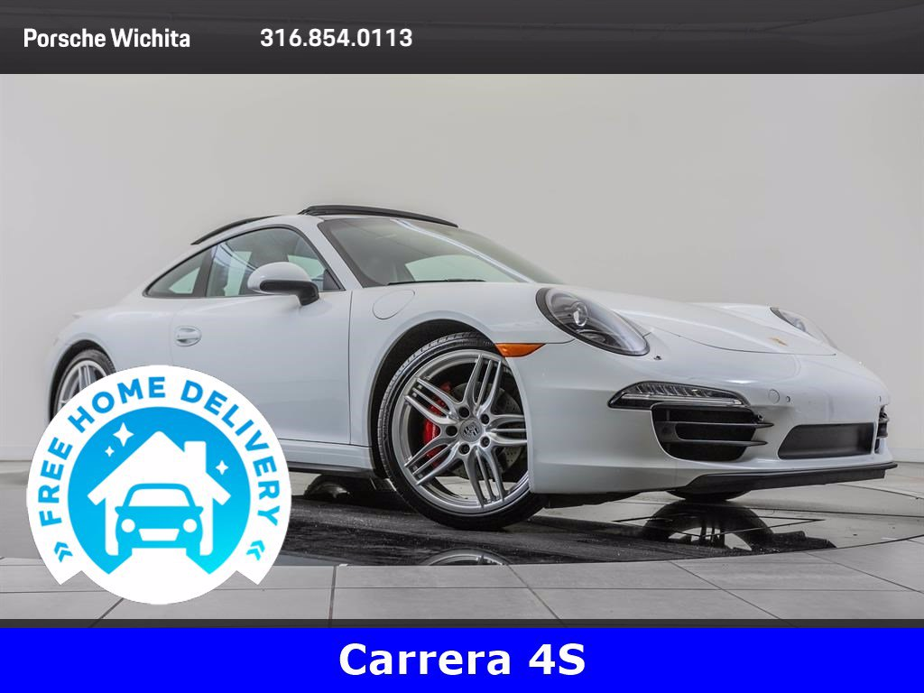 Pre-Owned 2014 Porsche 911 Carrera 4S Premium Package Plus