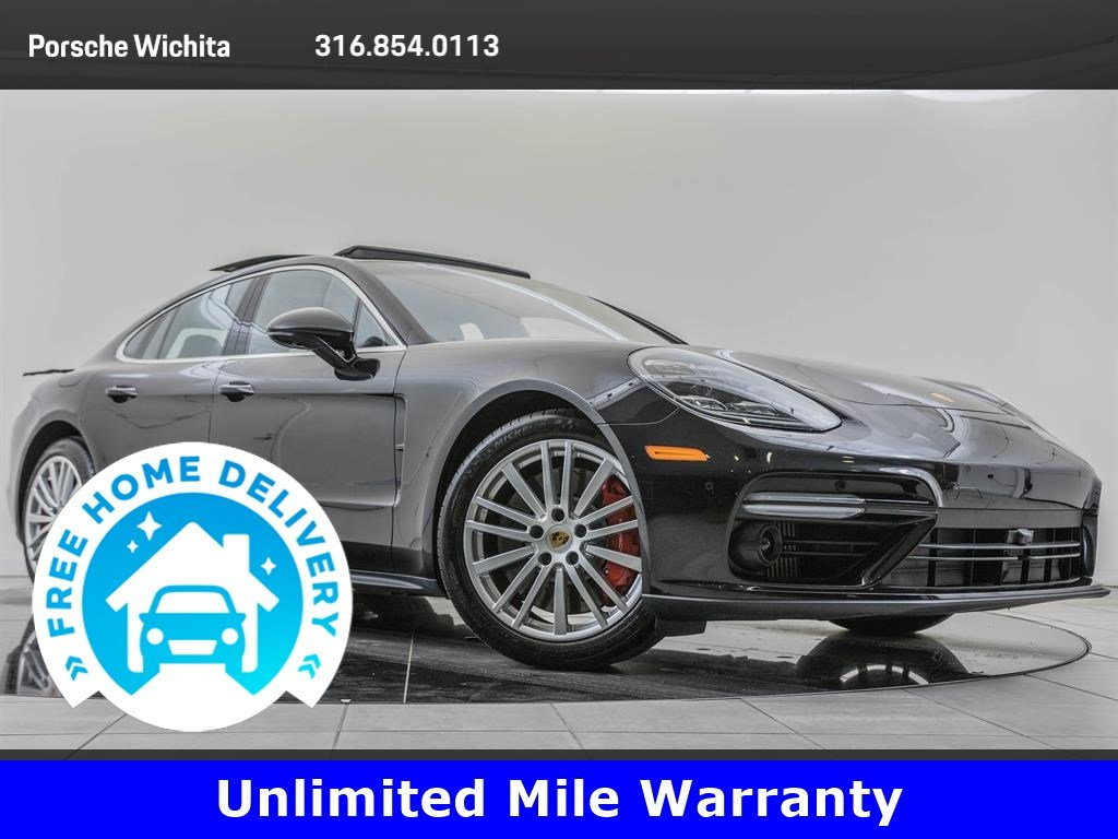 Pre-Owned 2017 Porsche Panamera Turbo Sport Chrono Package