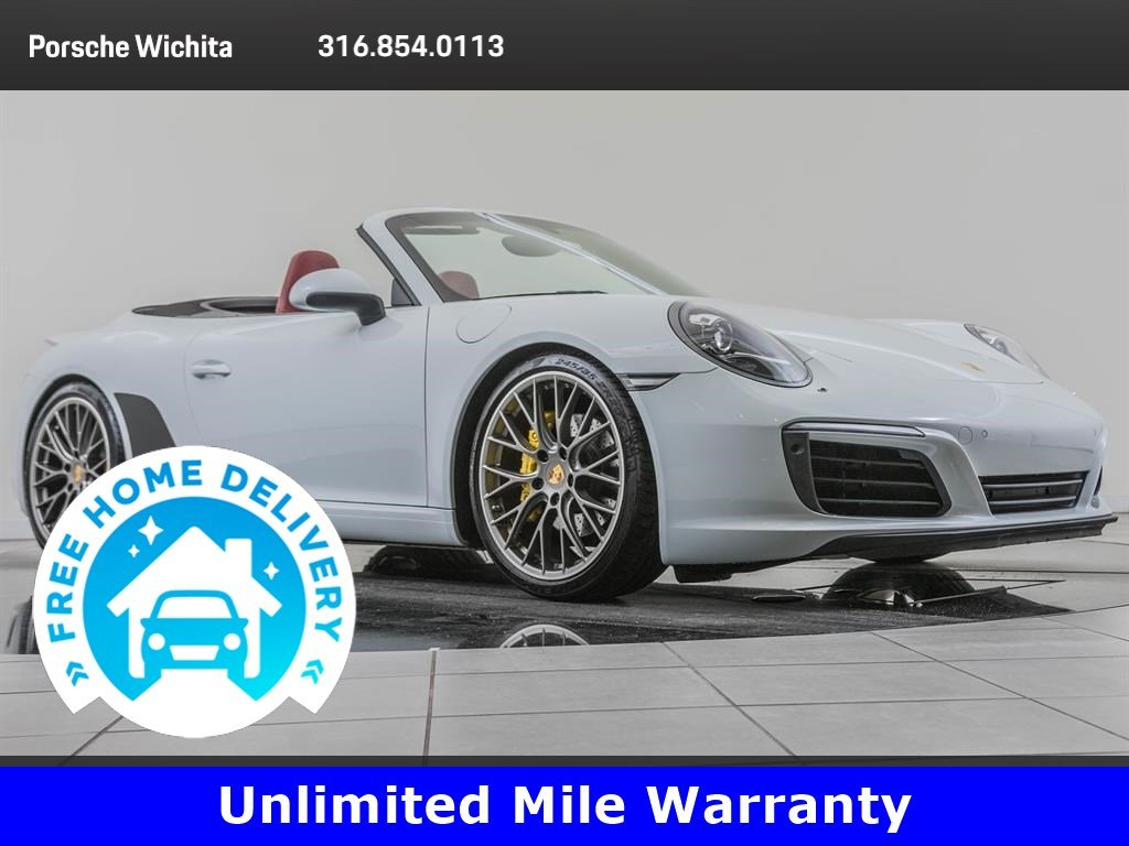 Pre-Owned 2017 Porsche 911 Factory Wheel Upgrade, Premium Package