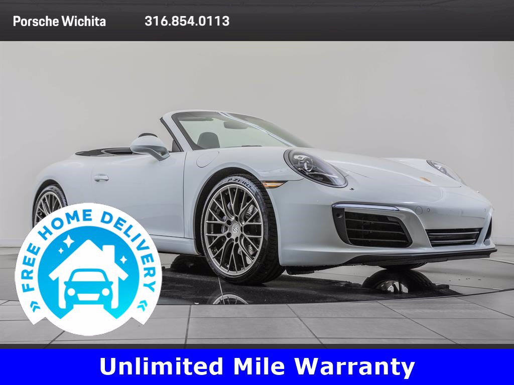 Pre-Owned 2017 Porsche 911 Premium Package