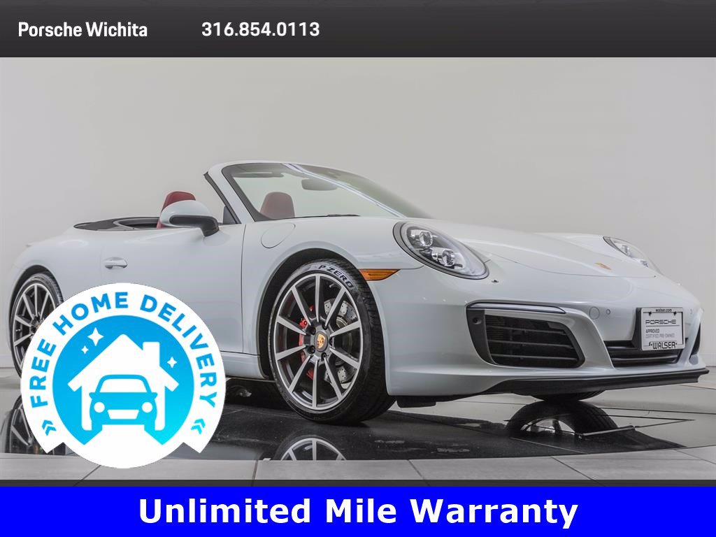 Pre-Owned 2017 Porsche 911 Carrera S Factory Wheel Upgrade, Premium Package Plus