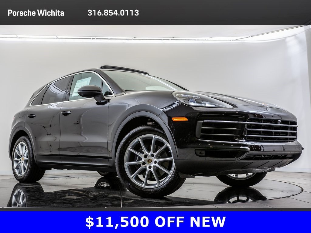 Pre-Owned 2019 Porsche Cayenne Premium Package Plus, Sport Chrono Pkg