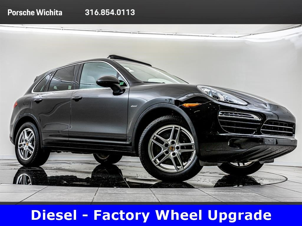 Pre-Owned 2014 Porsche Cayenne Diesel, Factory Wheel Upgrade