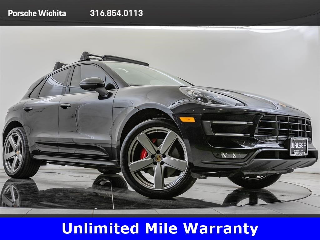 Pre-Owned 2015 Porsche Macan Turbo, Sport Chrono Pkg