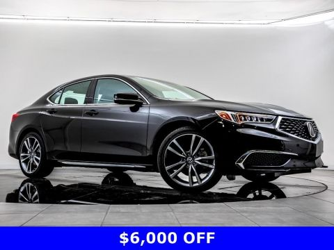 Pre-Owned 2019 Acura TLX 3.5 Tech SH-AWD, BT, CarPly, Nav, Blnd Spt