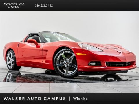 Pre-Owned 2007 Chevrolet Corvette 3LT, Head-Up Display, Htd Sts, BOSE, 6 Disc CD