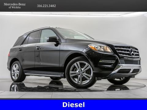 Pre-Owned 2015 Mercedes-Benz M-Class ML 250 BlueTEC 4MATIC®, Diesel, Premium Package