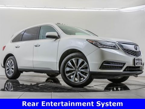 Pre-Owned 2016 Acura MDX SH-AWD Tech, Rear Entertainment Pkg