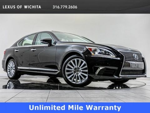 Pre-Owned 2017 Lexus LS Comfort Package, Navigation, Upgraded Wheels