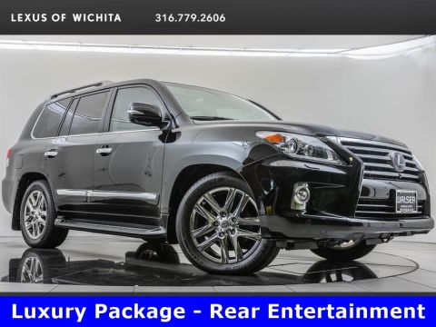 Pre-Owned 2015 Lexus LX 570 Luxury Package, Navigation, Rear Entertainment