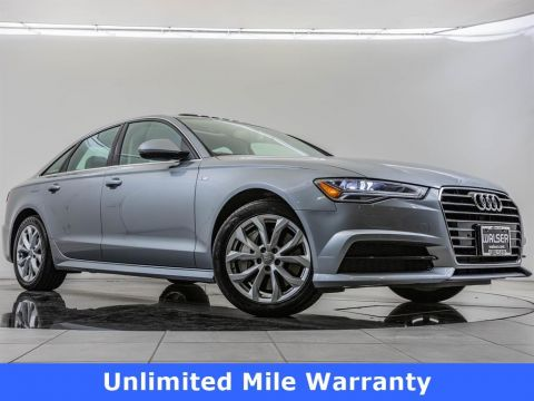 Pre-Owned 2018 Audi A6 2018 AUDI A6 2.0T PREMIUM (S TRONIC) (NO LONGER AVAILABLE FOR ORDERING) 4DR SDN