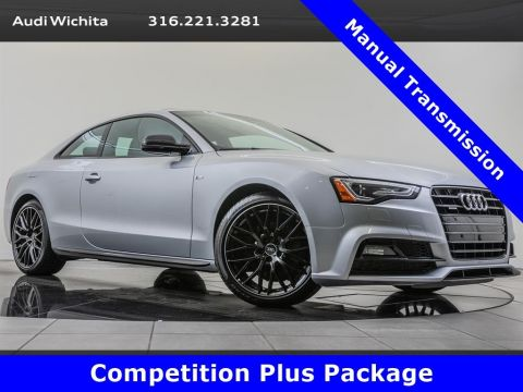 Pre-Owned 2016 Audi A5 2.0T Premium Plus quattro, Manual, Competition Pkg