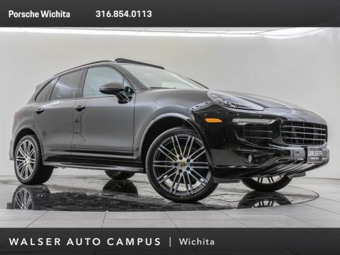 Pre-Owned 2017 Porsche Cayenne Factory Wheel Upgrade, Premium Package Plus