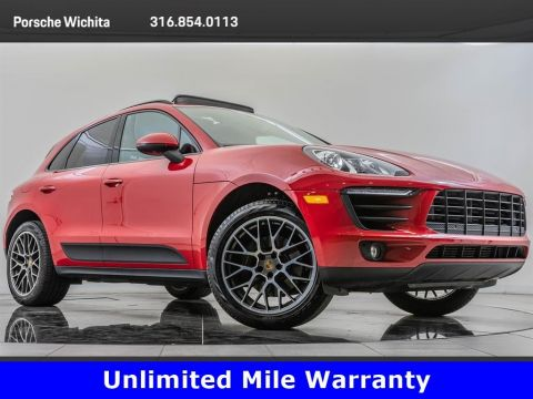 Pre-Owned 2017 Porsche Macan Premium Package Plus, Upgraded Wheels